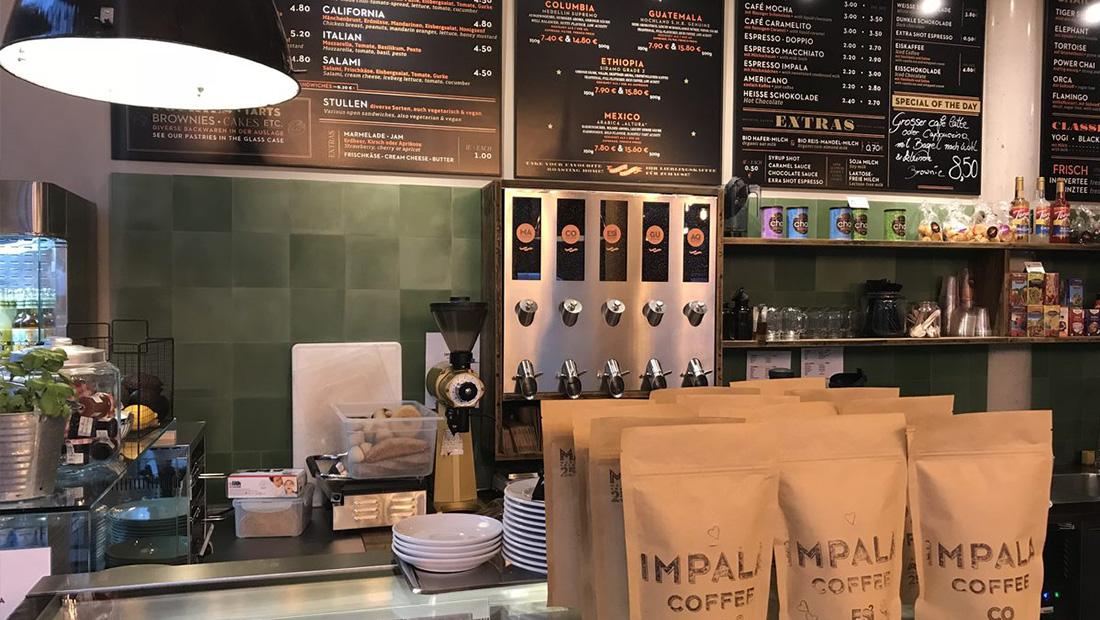 Beate Kalus Architect - Cafe Impala